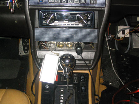 Stereo and CF dash