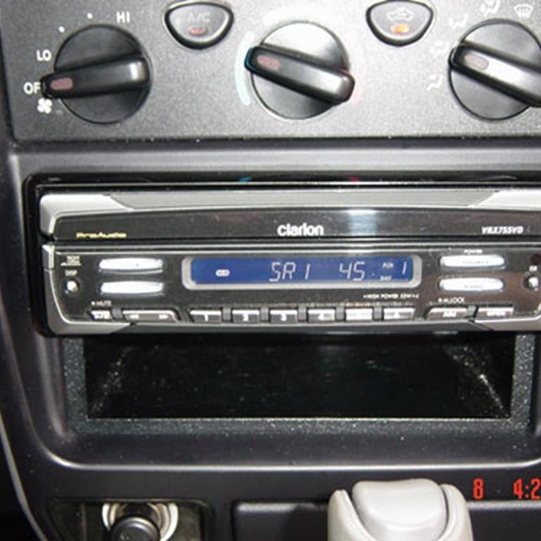 toyota tacoma audio radio speaker subwoofer stereo