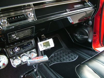 Pioneer stereo in the underdash kit/><p class=