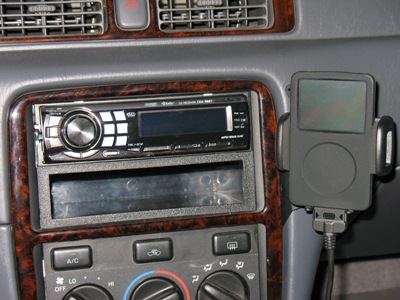 My head unit and iPod