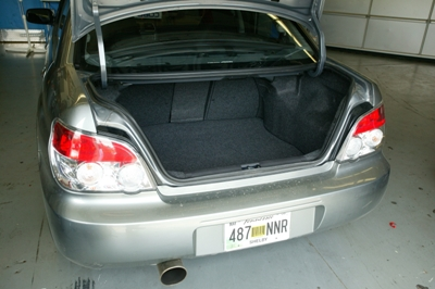 Eddy's trunk before the installation./><p class=
