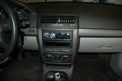 2006 Chevy Cobalt Stereo - Beautiful Install Kit From Crutchfield Com - 2006 Chevy Cobalt Stereo
