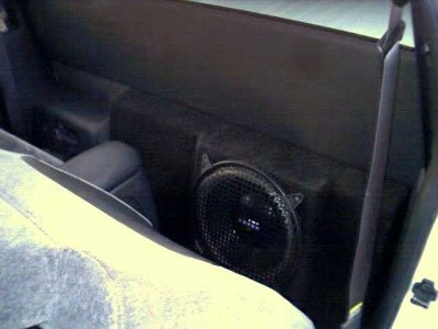 Custom sub enclosure