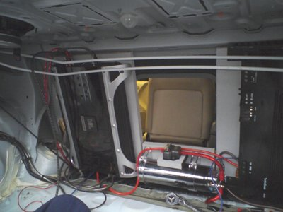 Amps mounted