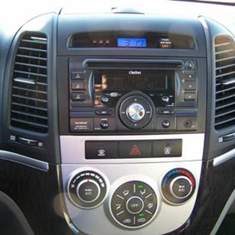 100_4056 hyundai santa fe audio radio, speaker, subwoofer, stereo  at n-0.co
