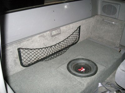 Subwoofer and Rear Speakers