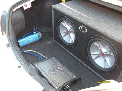 Kicker amplifier and subs