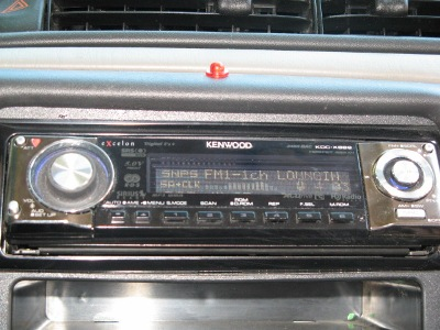 Kenwood receiver.