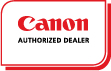 CANON AUTHORIZED DEALER