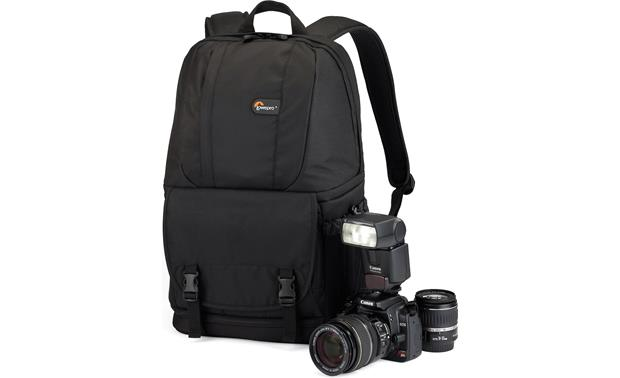 Lowepro Fastpack 200 Shown with camera - not included (Black)