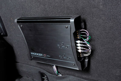 Kicker amplifier