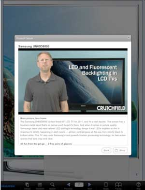Crutchfield Catalog App Video