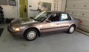 1992 Honda Accord EX Exterior