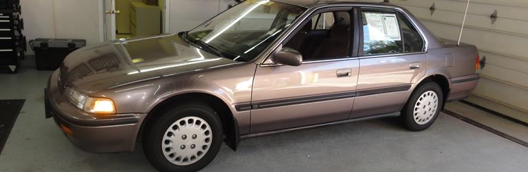 1991 Honda Accord LX Exterior 1991 Honda Accord LX Exterior