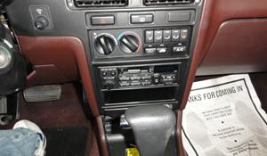 1991 Honda Accord Factory Radio