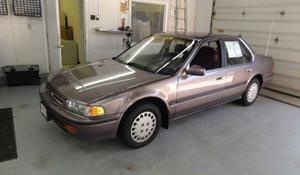 1991 Honda Accord DX Exterior