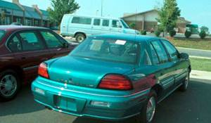 1992 Pontiac Grand Am Exterior