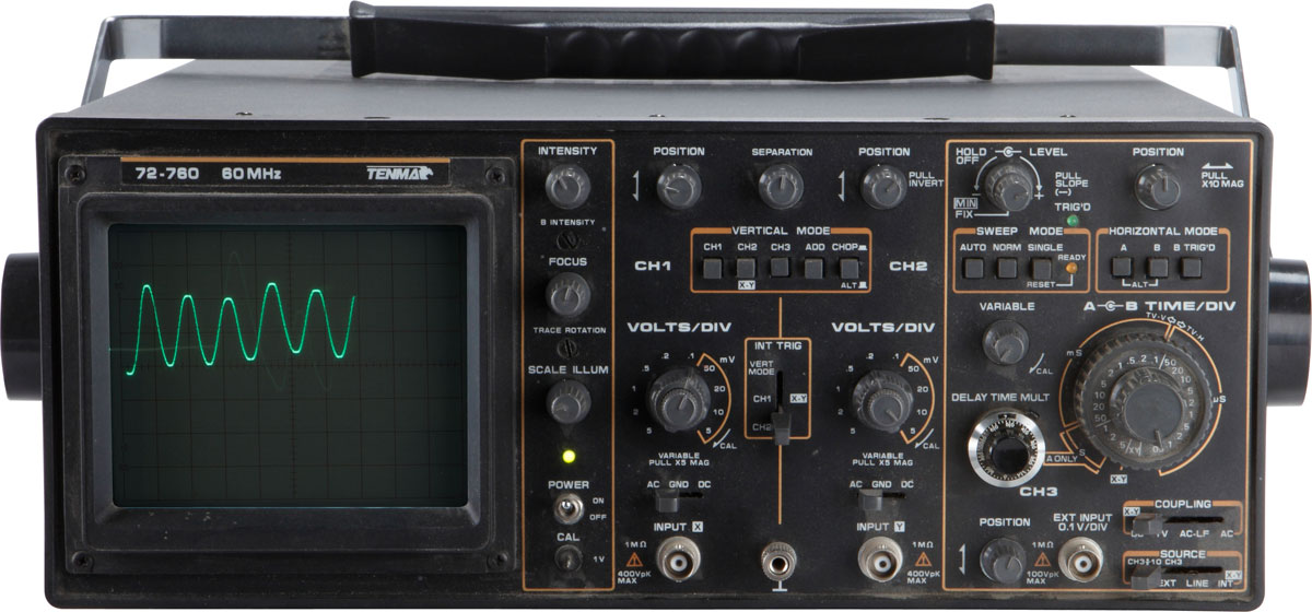 Tools for Testing Car Audio Systems: Oscilloscope, Real-time