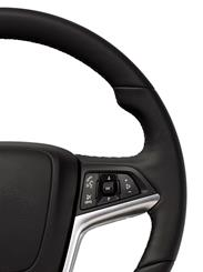 Steering wheel audio controls