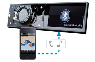 Bluetooth connection in your car