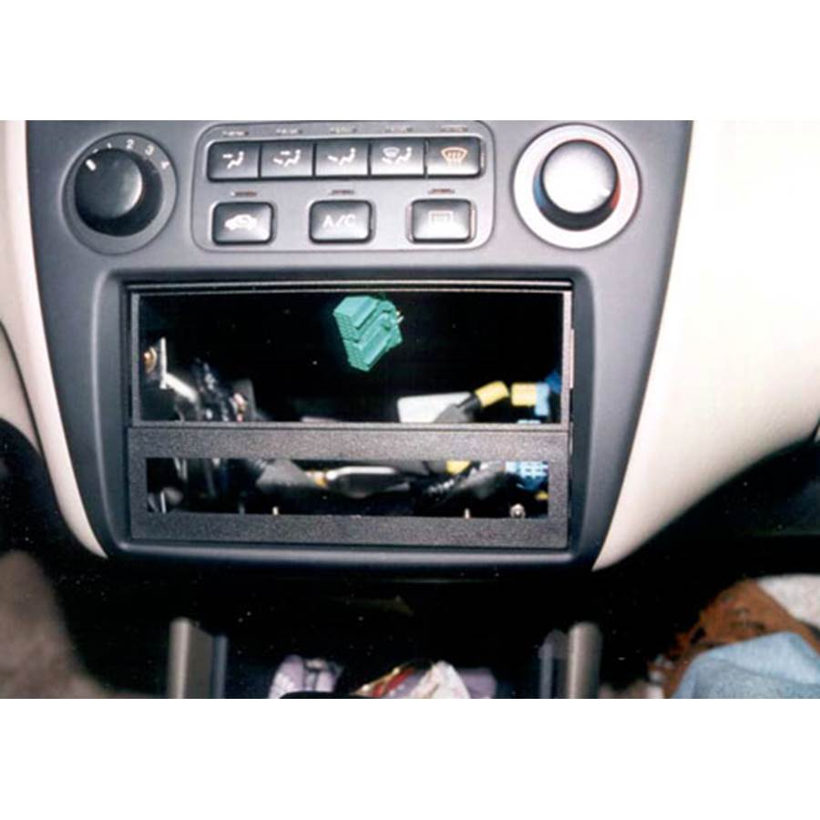 1998 Honda Accord Stereo kit installed