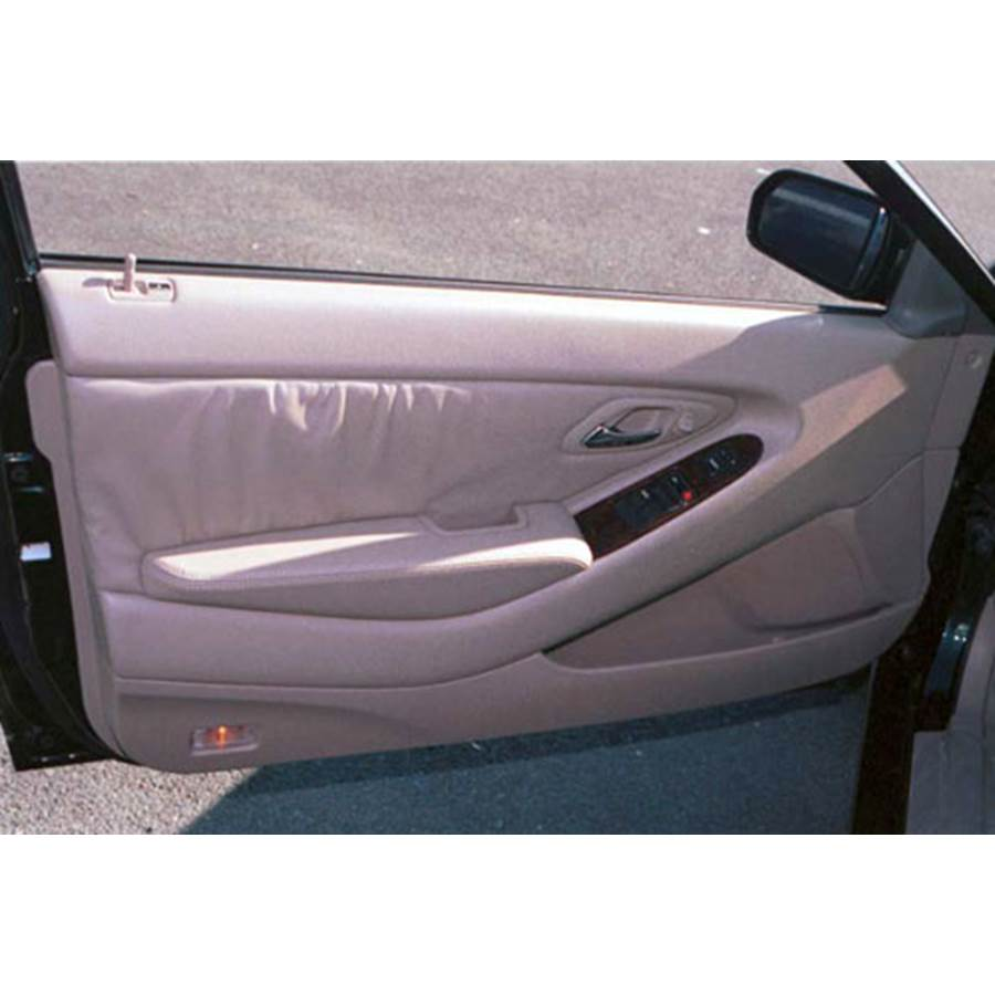 1998 Honda Accord Front door speaker location