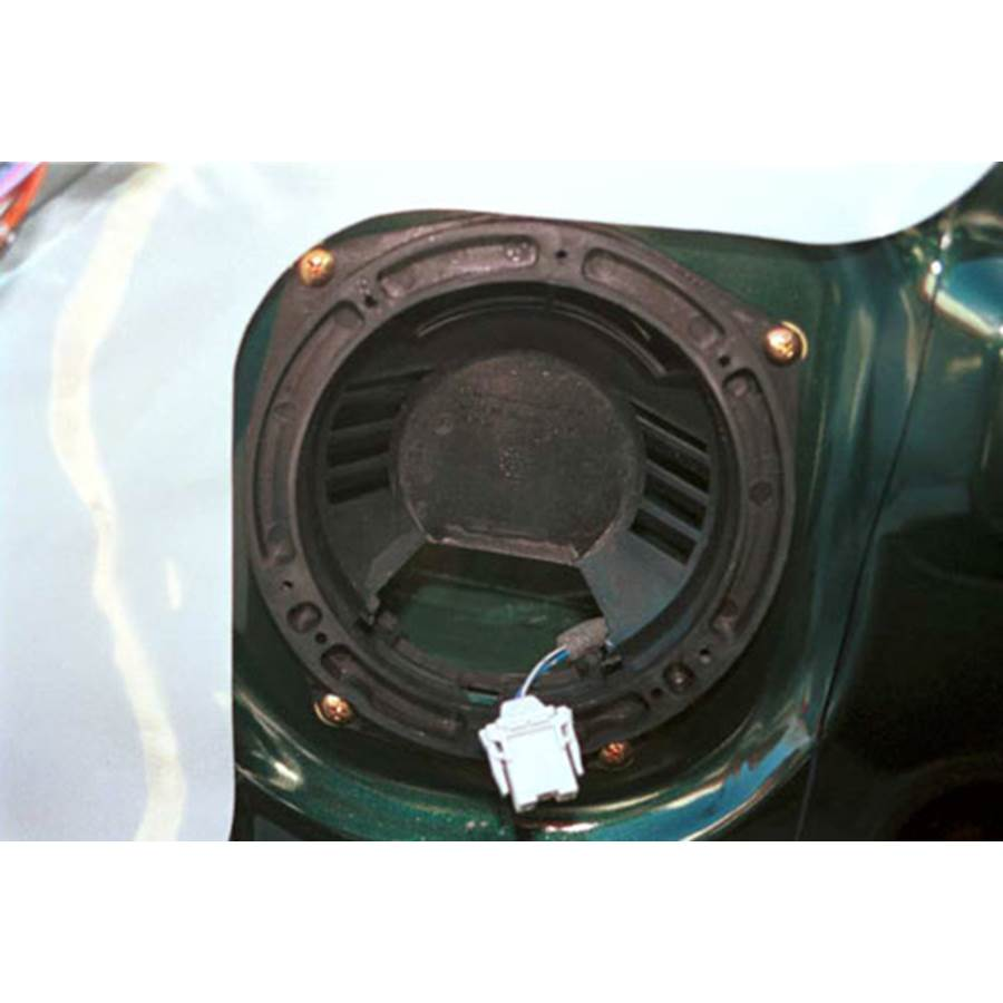 1998 Honda Accord Front speaker removed