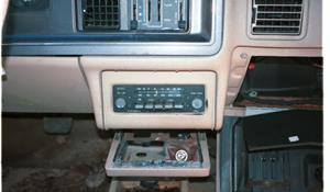 1986 Mercury Topaz Factory Radio