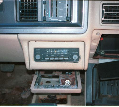 1987 Mercury Topaz Factory Radio