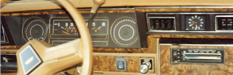 1985 Chevrolet Caprice Factory Radio