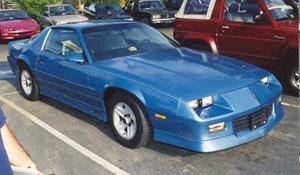 1986 Chevrolet Camaro - find speakers, stereos, and dash