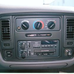1995 Chevrolet Caprice Factory Radio