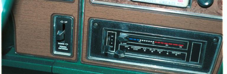 1976 Mercury Monterey Factory Radio
