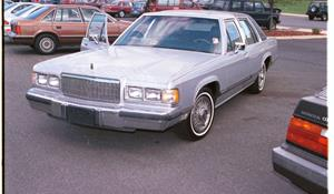 1987 Mercury Grand Marquis Exterior