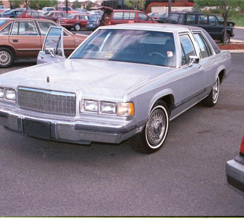1986 Mercury Grand Marquis Exterior