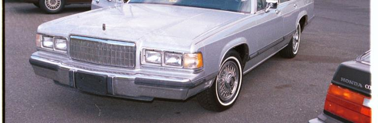 1989 Mercury Grand Marquis Exterior