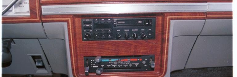 1985 Mercury Colony Park Factory Radio