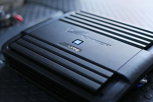 The Alpine 4-channel amplifier