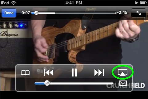 apple airplay itunes screenshot video