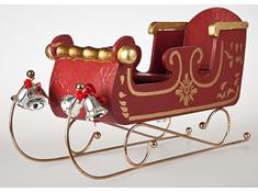 1821-up Flying Sleigh