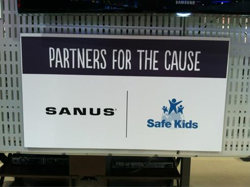 Sanus SafeKIds CES 2013 Crutchfield
