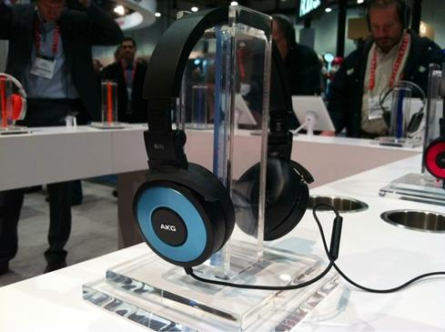 AKG K619 headphones Crutchfield CES 2013