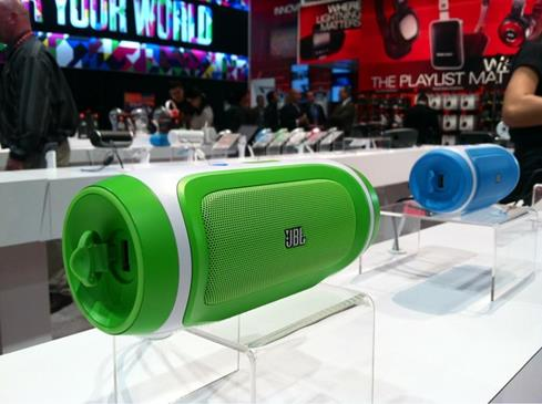 Crutchfield CES 2013 JBL portable speaker system