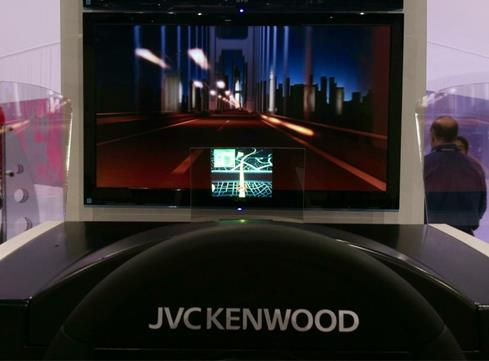 CES 2013 Crutchfield Kenwood display
