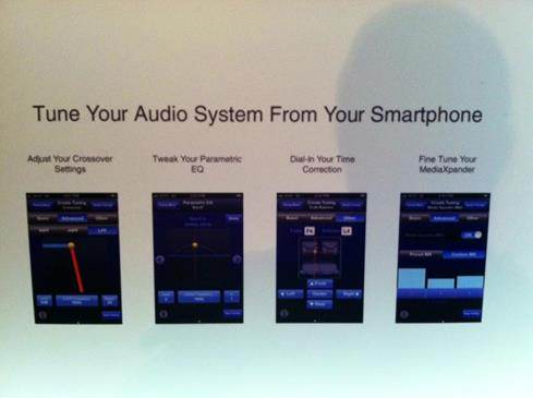 Alpine CES 2013 Crutchfield app