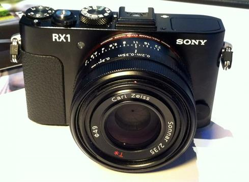 Sony RX1 DSLR CES 2013 Crutchfield