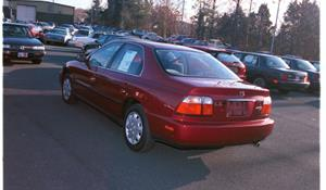 1997 Honda Accord LX Exterior