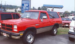 1988 Dodge Ramcharger Exterior