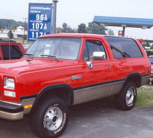1992 Dodge Ramcharger Exterior