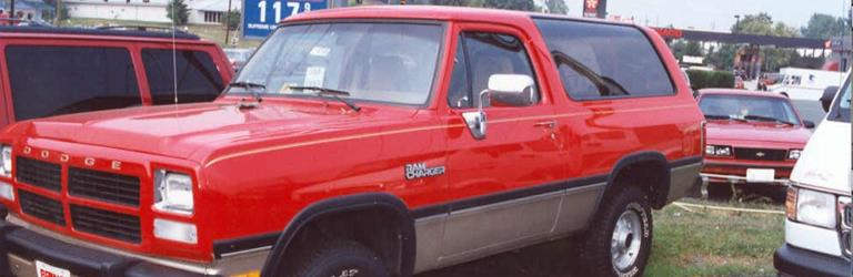 1989 Dodge Ramcharger Exterior